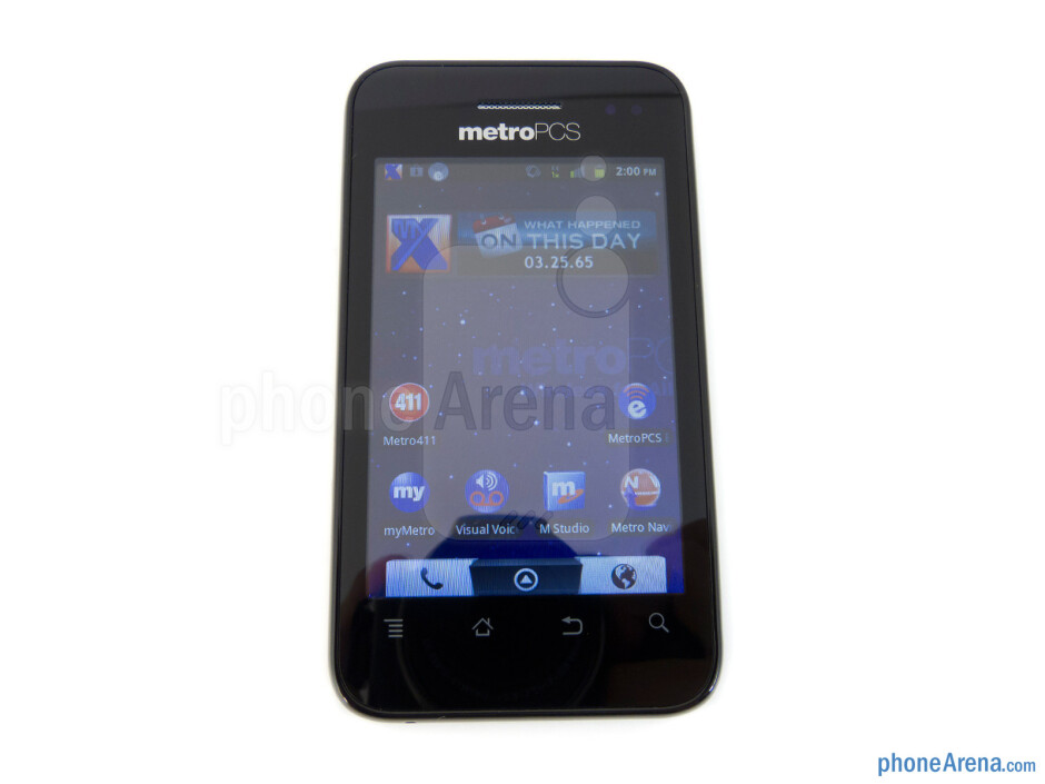 Viewing angles of the ZTE Score M - ZTE Score M Review