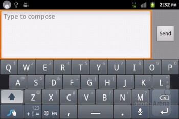 Virtual keyboards - ZTE Score M Review