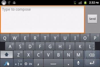 Virtual keyboards - ZTE Score M Review