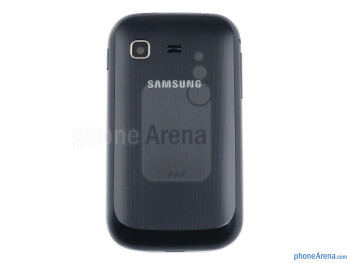 The Samsung Galaxy Pocket is constructed out of plastic, and has a relatively light weight - Samsung Galaxy Pocket Preview