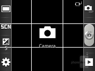 Camera interface - Samsung Galaxy Pocket Preview
