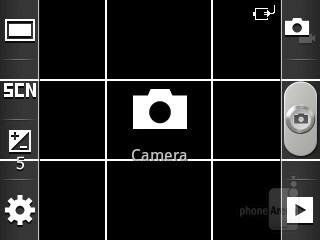 Camera interface - Samsung Galaxy Pocket Preview