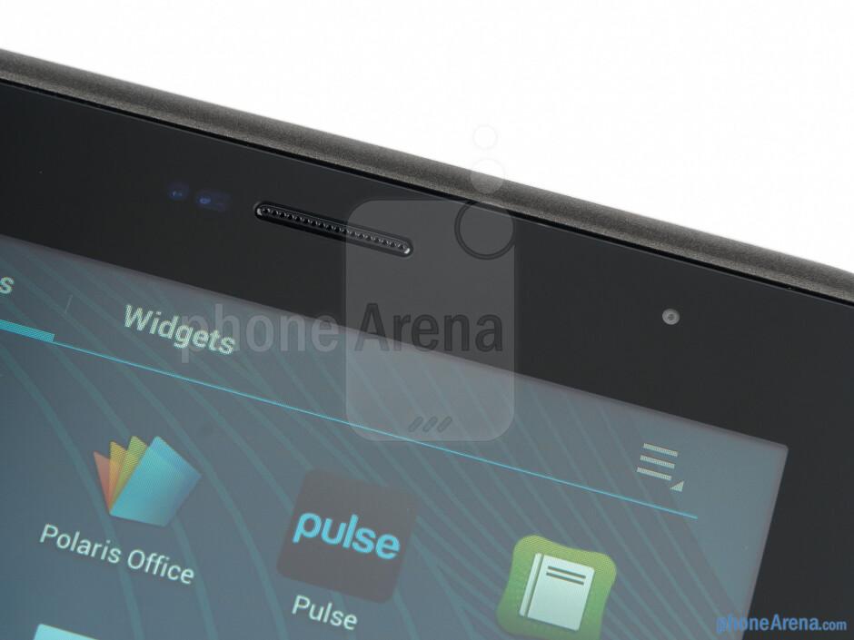 Front-facing camera - Samsung Galaxy Tab 2 (7.0) Preview