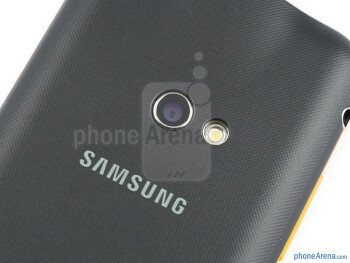 Camera and LED flash - Samsung Galaxy Beam Preview