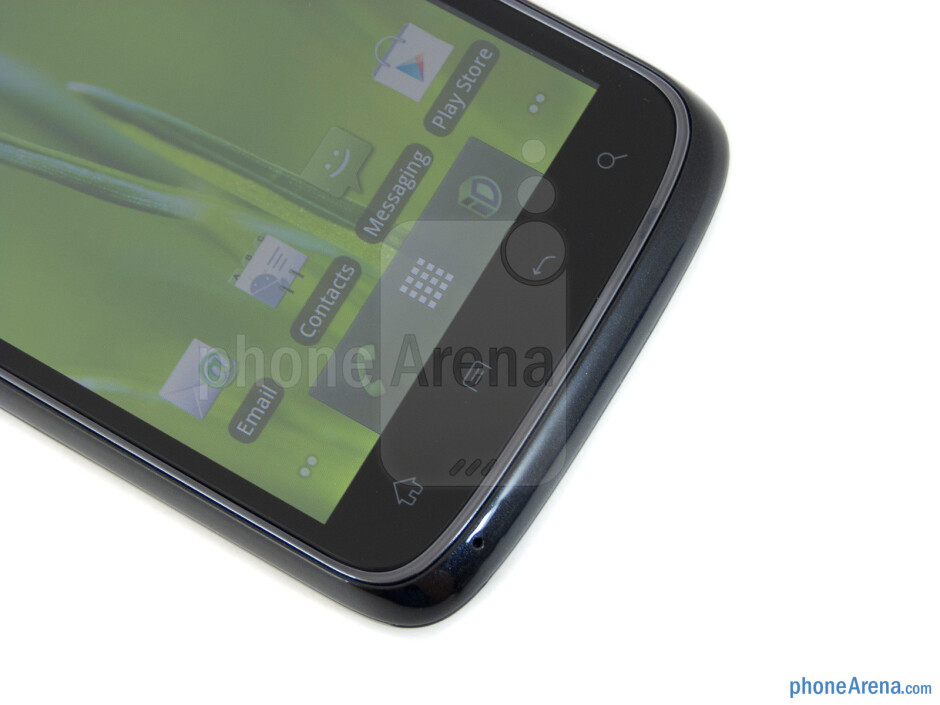 Android buttons - ZTE Warp Review