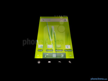 Viewing angles - ZTE Warp Review