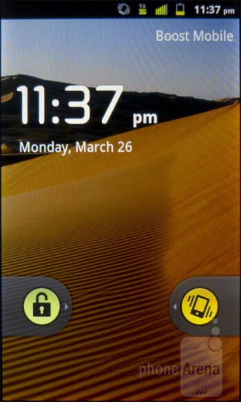 The ZTE Warp sports Android 2.3.5 Gingerbread - ZTE Warp Review