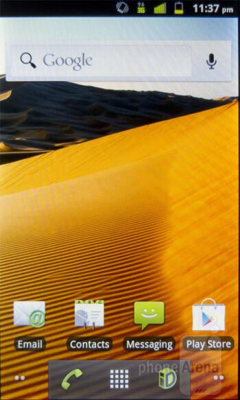 The ZTE Warp sports Android 2.3.5 Gingerbread - ZTE Warp Review
