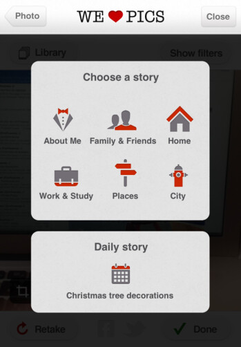WeHeartPics for iPhone Review