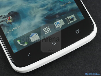 Android buttons - HTC One X Review