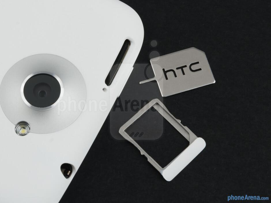 SIM card tray - HTC One X Review