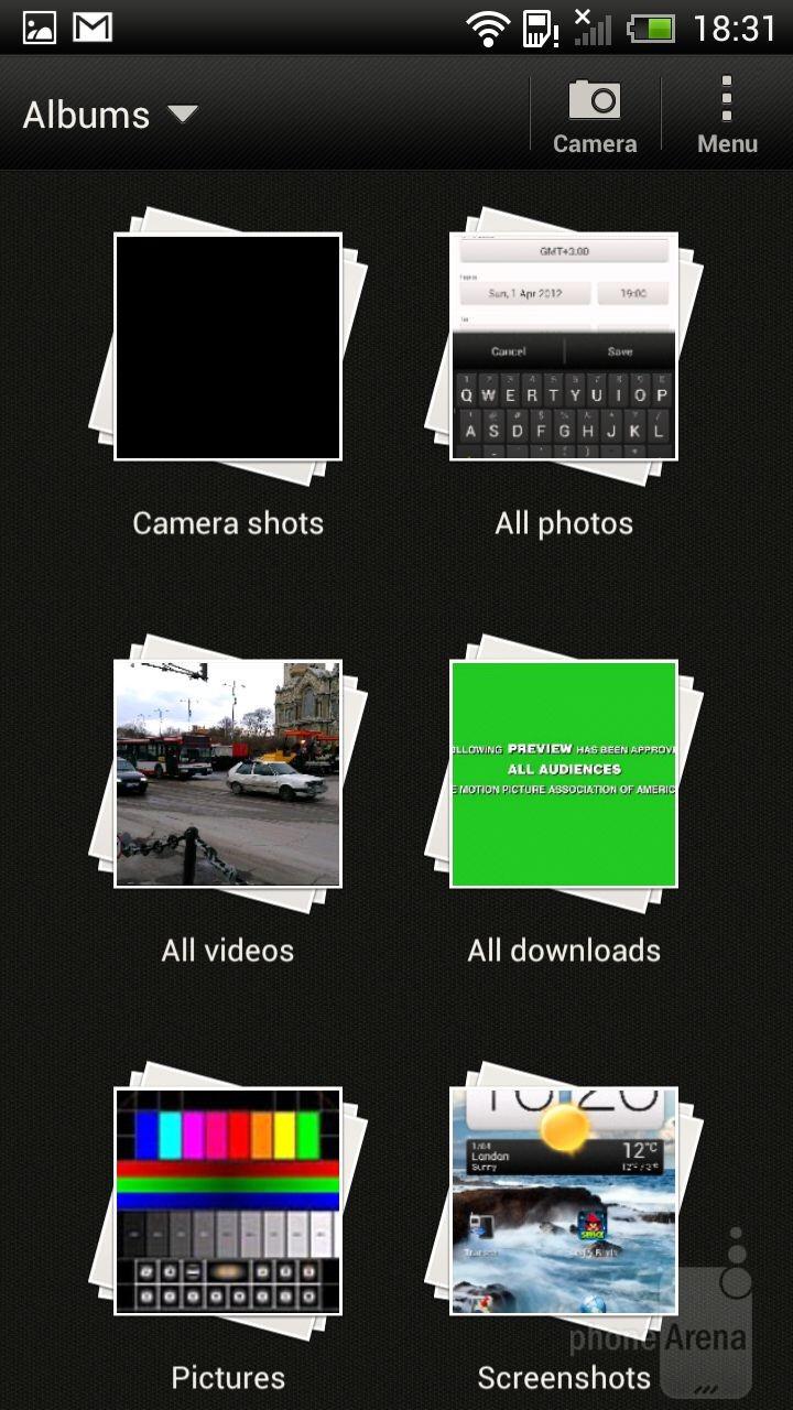 The Sense gallery - Samsung Galaxy Note II vs HTC One X
