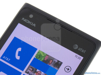 Front-facing camera - Nokia Lumia 900 Review