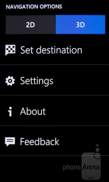 Nokia Drive and Maps - Nokia Lumia 900 vs HTC Titan II