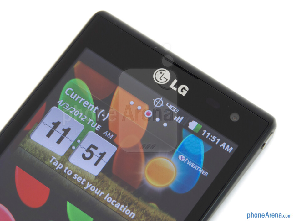 Front-facing camera - LG Lucid Review