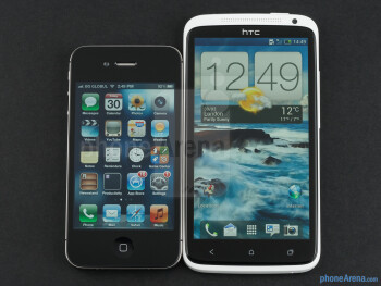 HTC One X vs Apple iPhone 4S