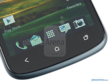 Android buttons - HTC One S Review