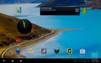 The ZTE Optik is running a pretty standard version of Android 3.2 Honeycomb - ZTE Optik Review