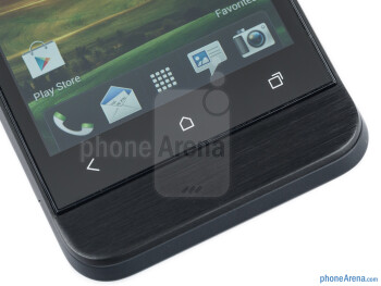 Android buttons - HTC One V Review