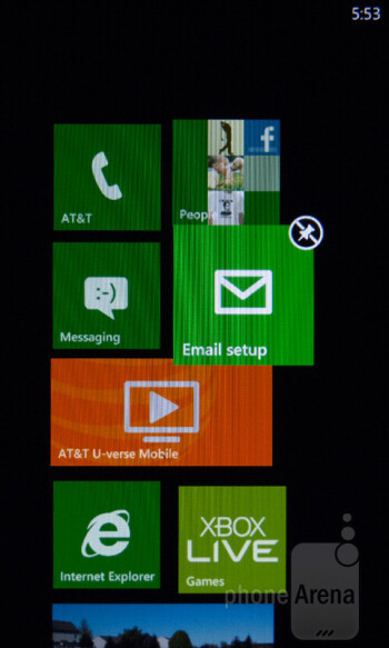 The UI of the HTC Titan II is not customized - HTC Titan II Review