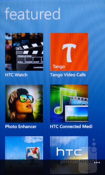 The HTC Hub app brings Sense-like experience - Nokia Lumia 900 vs HTC Titan II