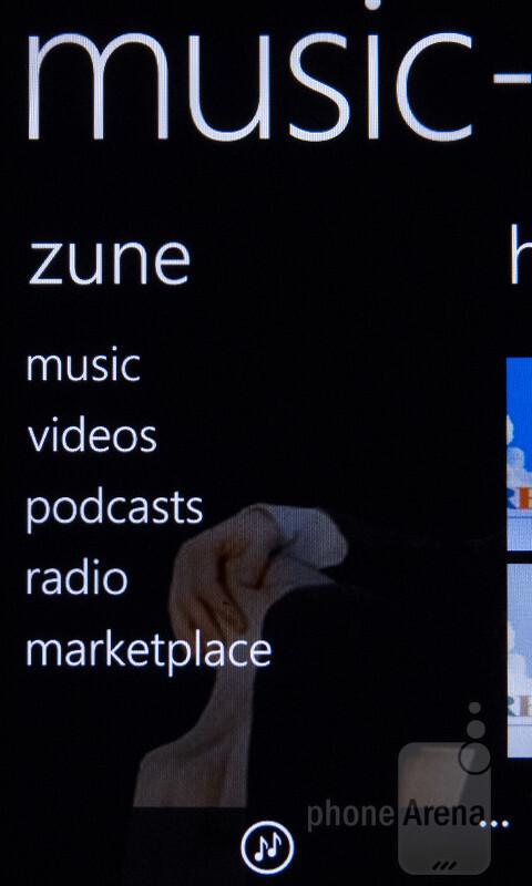 Playing music on the HTC Titan II - Nokia Lumia 900 vs HTC Titan II