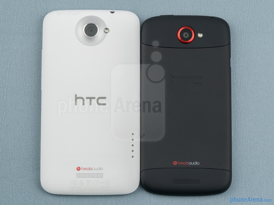 HTC is clearly experimenting with modern chassis materials with the One X (left) and One S (right) - HTC One X vs HTC One S