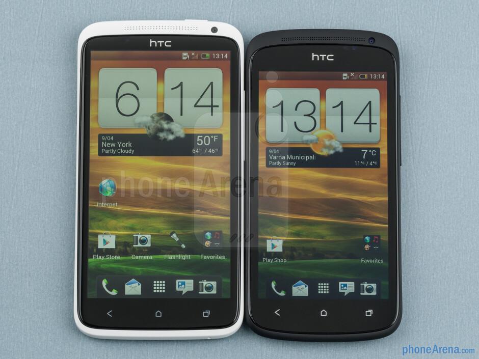 HTC One X vs HTC One S