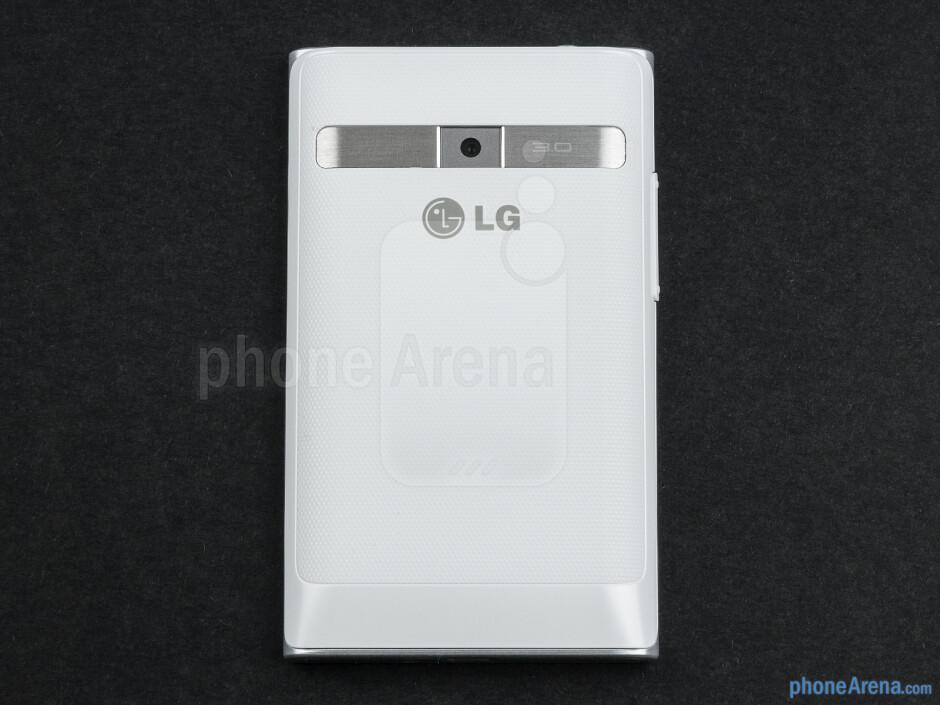 Back - LG Optimus L3 Review