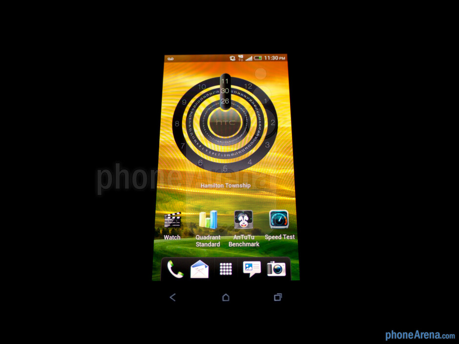Viewing angles - HTC One S for T-Mobile Review