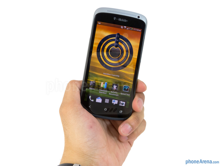 The HTC One S is extremely comfortable to hold in the hand - HTC One S for T-Mobile Review