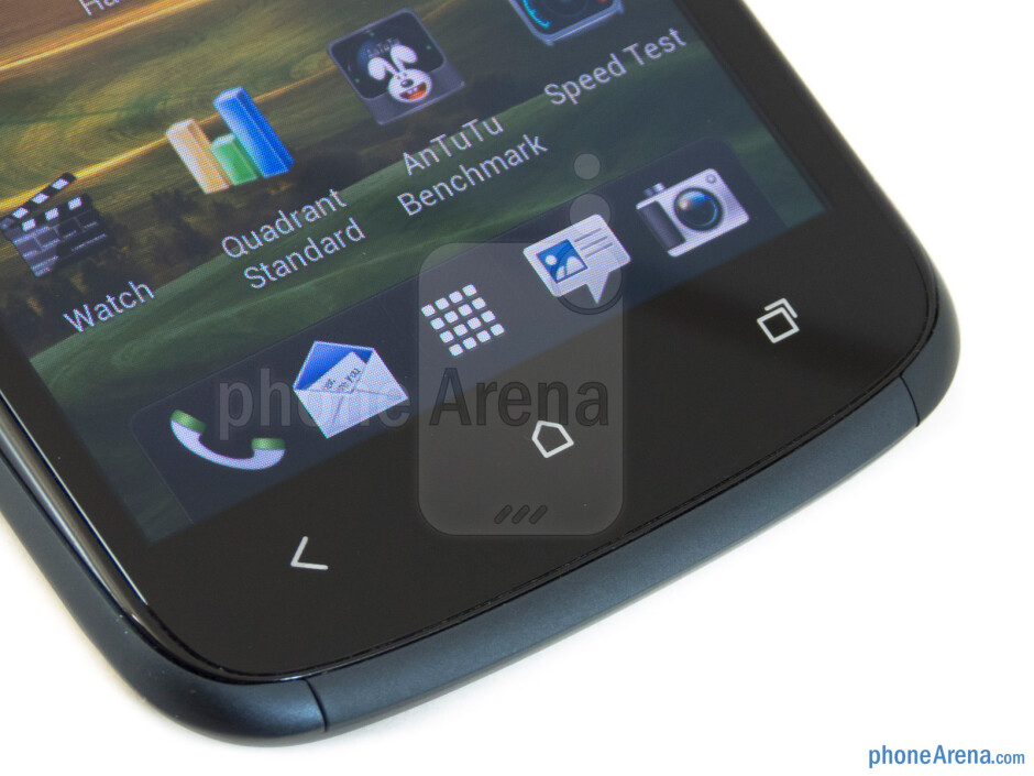 Capacitive buttons beneath the display - HTC One S for T-Mobile Review