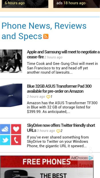 The HTC One S delivers a tasteful web browsing experience - HTC One S for T-Mobile Review