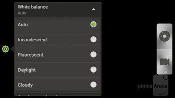 Camera interface - HTC One S for T-Mobile Review