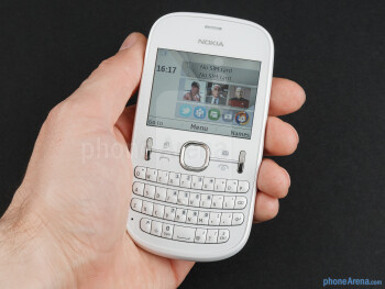 The Nokia Asha 200 fits naturally in the palm of your hand, which makes it really easy to operate - Nokia Asha 200 Review