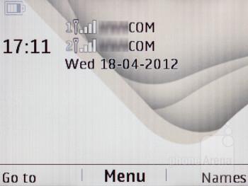 The interface of the Nokia Asha 200 - Nokia Asha 200 Review