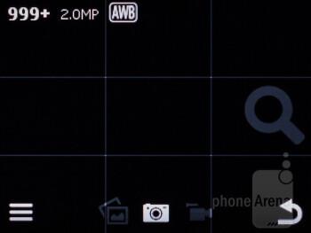 Camera interface - Nokia Asha 200 Review
