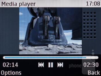 Multimedia playback - Nokia Asha 200 Review