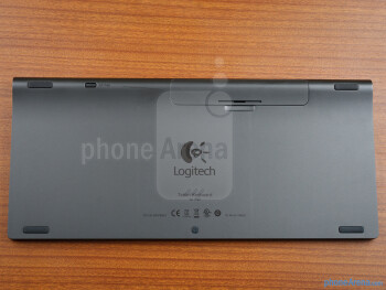 The Logitech Tablet Keyboard for iPad slides in a plastic case - Logitech Tablet Keyboard for iPad Review