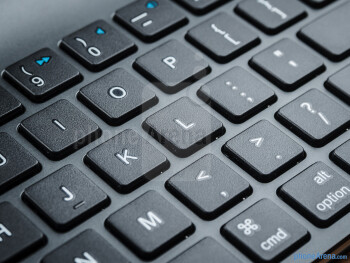 The keys are island-style - Logitech Tablet Keyboard for iPad Review