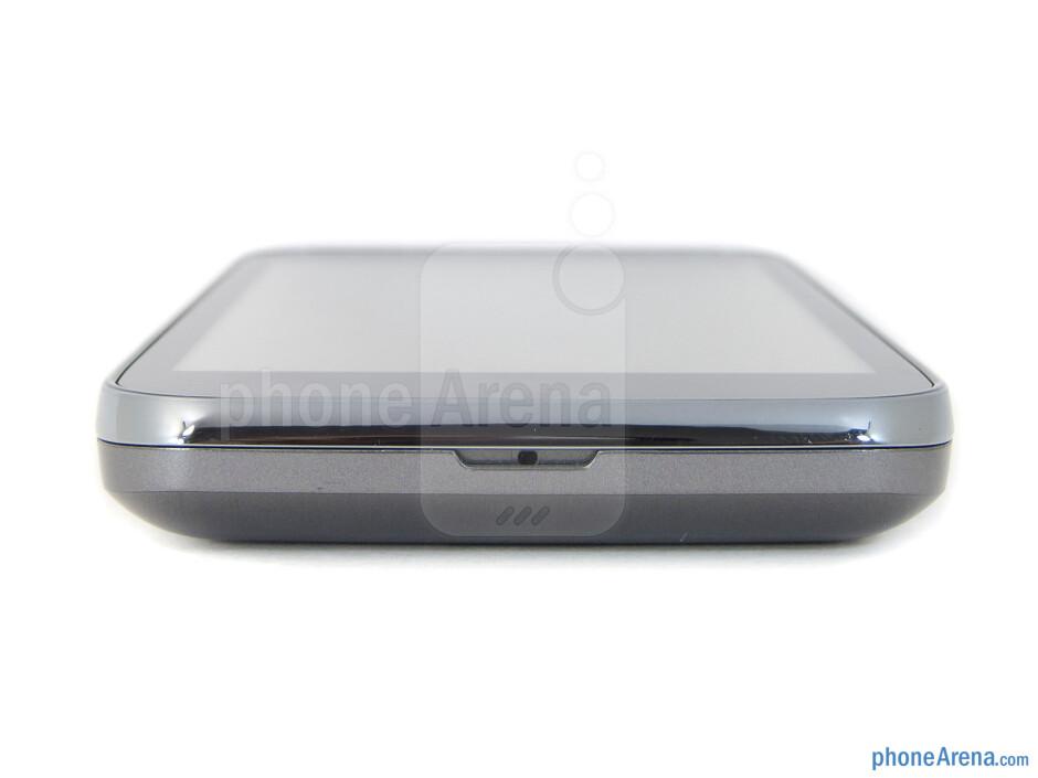 Bottom edge - The sides of the LG Viper 4G LTE - LG Viper 4G LTE Review
