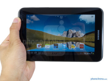 The Samsung Galaxy Tab 2 (7.0) is easy to hold and solidly built - Samsung Galaxy Tab 2 (7.0) Review