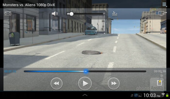 Video playback - Samsung Galaxy Tab 2 (7.0) Review