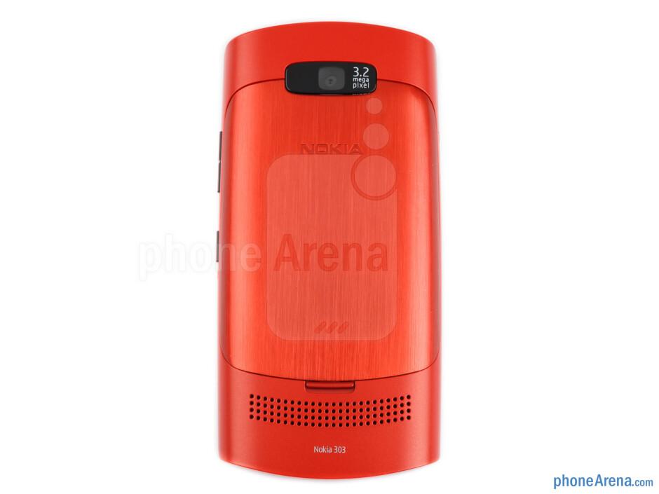 Back - Nokia Asha 303 Review