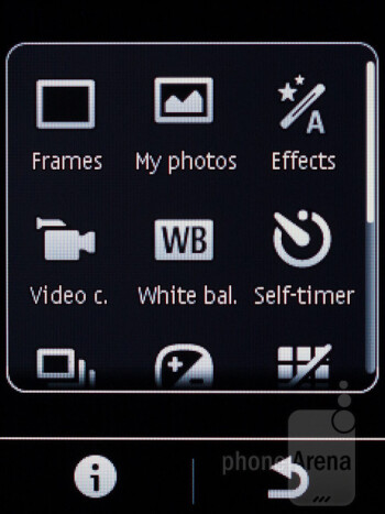 Camera interface - Nokia Asha 303 Review