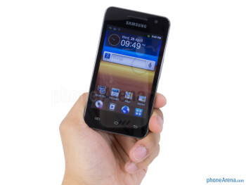 The Samsung Galaxy Player 3.6 is comprised out of lightweight plastic - Samsung Galaxy Player 3.6 Review