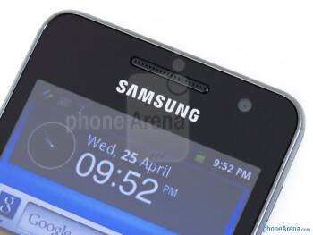 Front-facing camera - Samsung Galaxy Player 3.6 Review