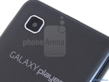Rear camera - Samsung Galaxy Player 3.6 Review