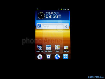 Viewing angles - Samsung Galaxy Player 3.6 Review