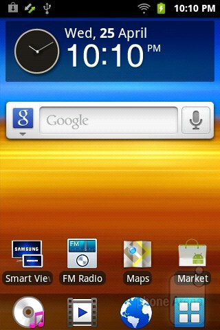 The Samsung Galaxy Player 3.6 is featuring the TouchWiz UI running on top of Android 2.3.6 Gingerbread - Samsung Galaxy Player 3.6 Review